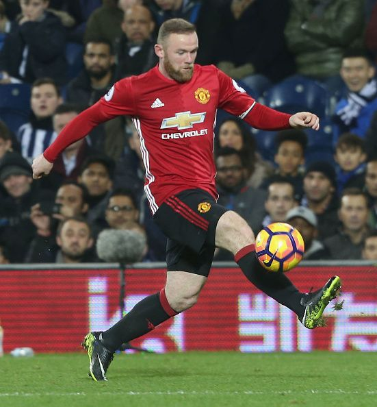 during the Premier League match between West Bromwich Albion and Manchester United at The Hawthorns on December 17, 2016 in West Bromwich, England.